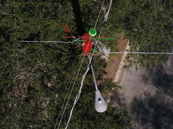 Tagged pole