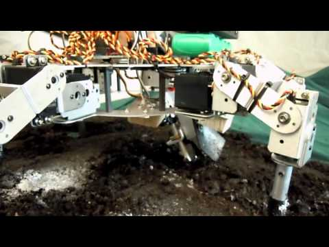 David Dorhout's robotic seeding machine