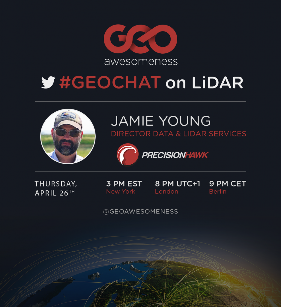 Close-up with Jamie Young, Director of LiDAR Services at
